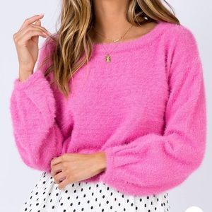 Princess Polly Day After Day Jumper- Pink